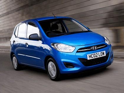 2010 Hyundai i10 Blue - UK version 1
