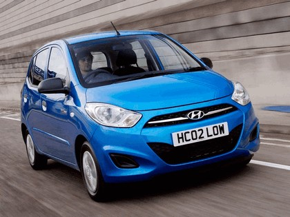 2010 Hyundai i10 Blue - UK version 2