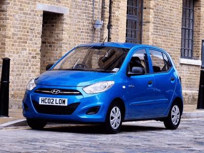 2010 Hyundai i10 Blue - UK version 3