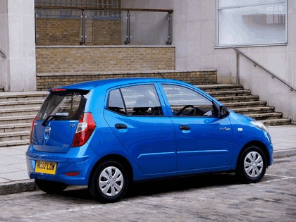 2010 Hyundai i10 Blue - UK version 4