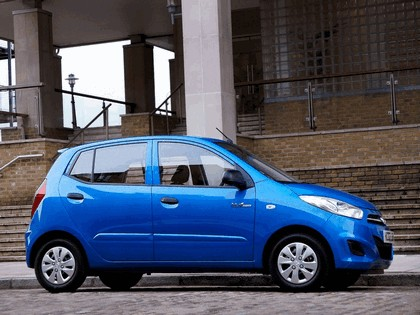 2010 Hyundai i10 Blue - UK version 5