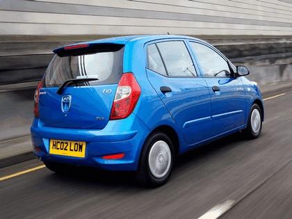 2010 Hyundai i10 Blue - UK version 6