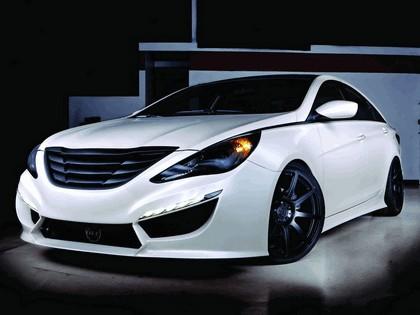 2010 Hyundai Sonata 2.0T by Rides 1