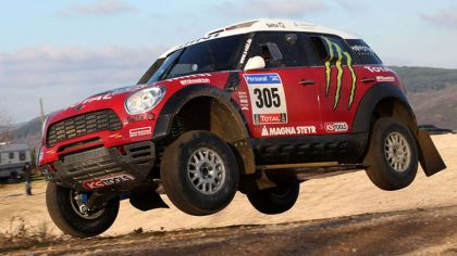 2010 Mini Countryman ALL4 Dakar 9