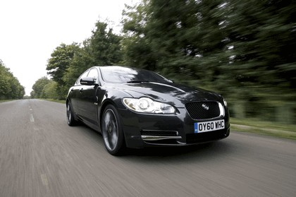2010 Jaguar XF BlackPack - UK version 7
