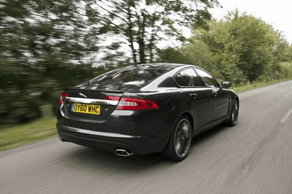 2010 Jaguar XF BlackPack - UK version 8