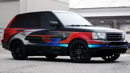 2005 Land Rover Troy Lee Designs Range Rover Sport Supercharged 2