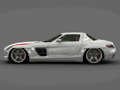 2010 Mercedes-Benz SLS AMG with Panamericana Body Package by GWA 2