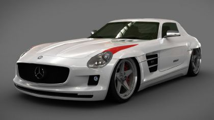 2010 Mercedes-Benz SLS AMG with Panamericana Body Package by GWA 8