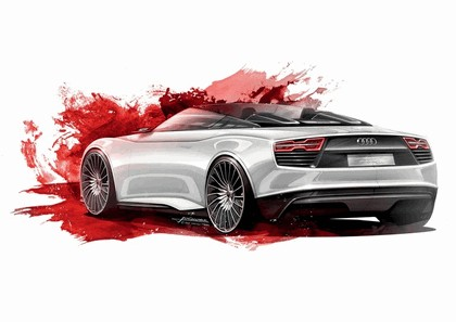 2010 Audi e-tron Spyder concept 10