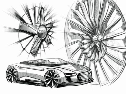 2010 Audi e-tron Spyder concept 11