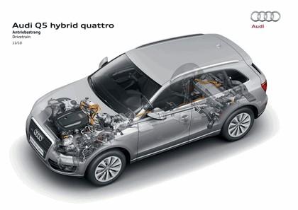 2010 Audi Q5 hybrid quattro 8