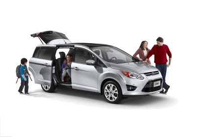 2011 Ford C-max - USA version 9