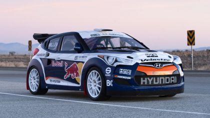 2011 Hyundai Veloster rally car 1