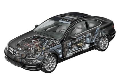 2011 Mercedes-Benz C-klasse coupé 63