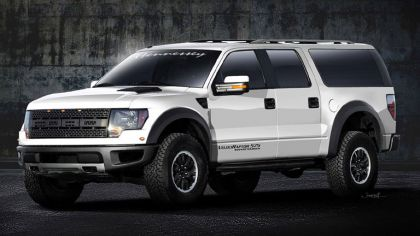 2011 Hennessey VelociRaptor 575 Supercharged ( based on Ford F-150 SVT Raptor ) 7