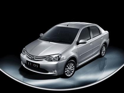 2011 Toyota Etios sedan 1