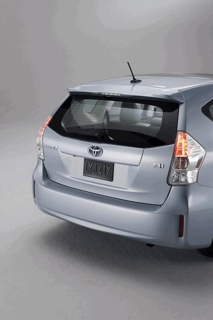 2011 Toyota Prius V hybrid 48