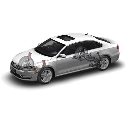 2011 Volkswagen Passat - USA version 66