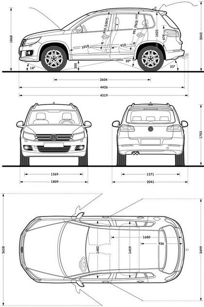 2011 Volkswagen Tiguan 43