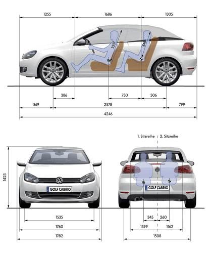2011 Volkswagen Golf cabriolet 35