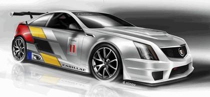 2011 Cadillac CTS-V coupé - race car 14