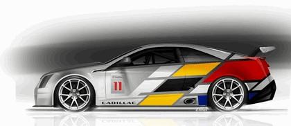 2011 Cadillac CTS-V coupé - race car 15