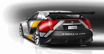 2011 Cadillac CTS-V coupé - race car 16