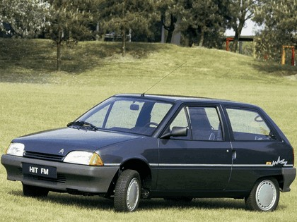 1987 Citroen AX Hit FM 1