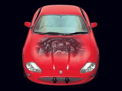 1998 Jaguar XKR coupé 18