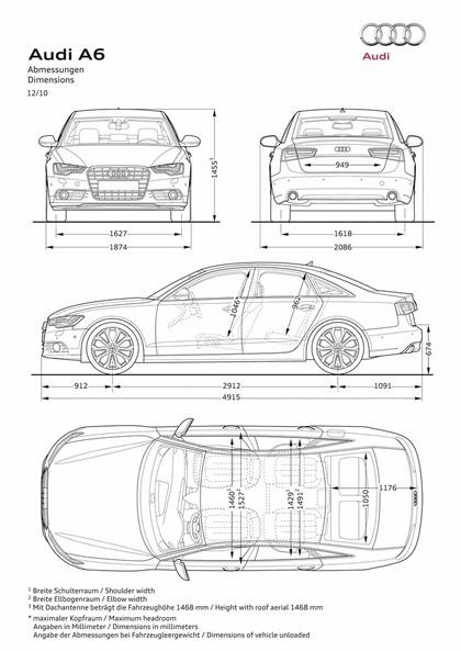 2011 Audi A6 28
