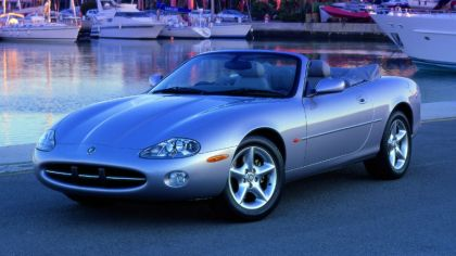 1996 Jaguar XK8 convertible 8