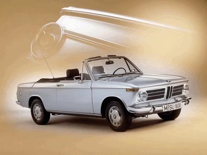1967 BMW 1600 ( E10 ) cabriolet 1