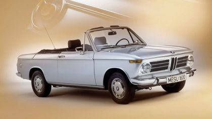 1967 BMW 1600 ( E10 ) cabriolet 9