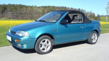 1992 Suzuki Swift cabriolet 7
