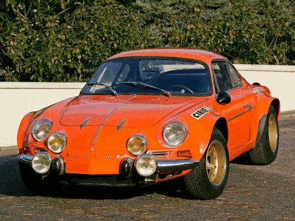 1970 Alpine A110 1600S Group 4 1