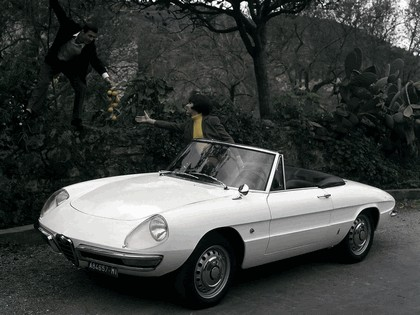 1966 Alfa Romeo Spider Duetto 7