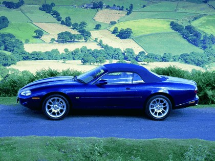 1998 Jaguar XKR convertible 4