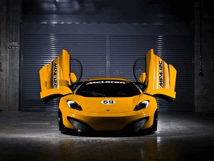 2011 McLaren MP4-12C GT3 39