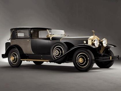 1929 Rolls-Royce Phantom Springfield Riviera Town Brougham by Brewster 1