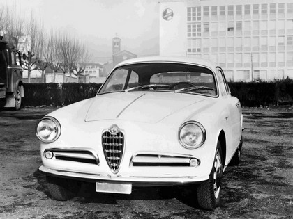 1954 Alfa Romeo Giulietta Sprint by Bertone 15