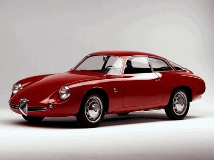 1961 Alfa Romeo Giulietta SZ Sprint Zagato Coda Tronca 1