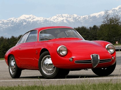 1961 Alfa Romeo Giulietta SZ Sprint Zagato Coda Tronca 2