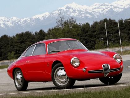 1961 Alfa Romeo Giulietta SZ Sprint Zagato Coda Tronca 3