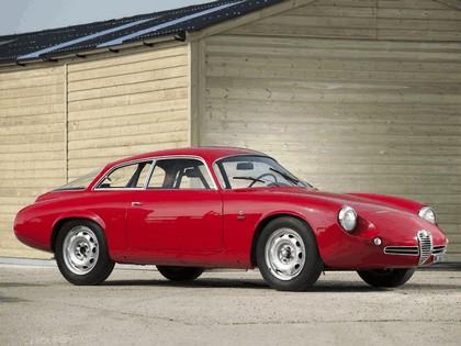 1961 Alfa Romeo Giulietta SZ Sprint Zagato Coda Tronca 5