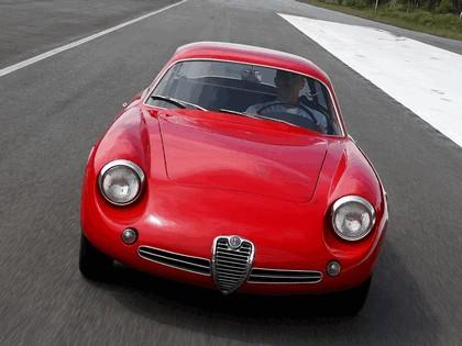 1961 Alfa Romeo Giulietta SZ Sprint Zagato Coda Tronca 7