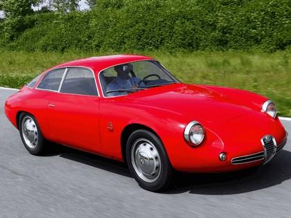1961 Alfa Romeo Giulietta SZ Sprint Zagato Coda Tronca 8