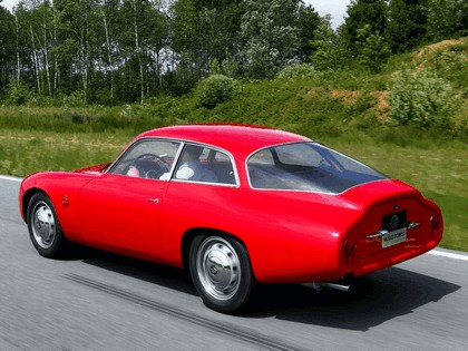 1961 Alfa Romeo Giulietta SZ Sprint Zagato Coda Tronca 9