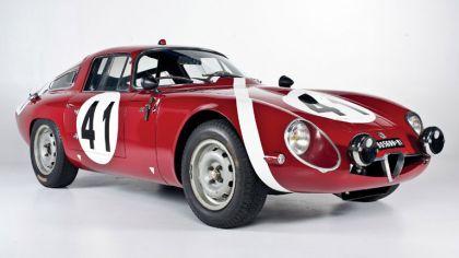 1964 Alfa Romeo Giulia TZ coupé Le Mans 8