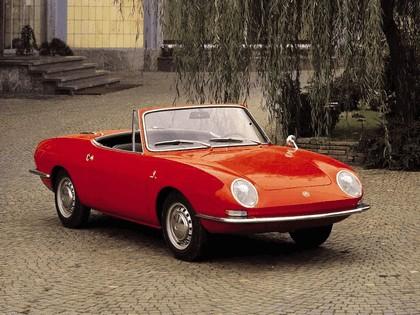 1965 Fiat 850 spider 1